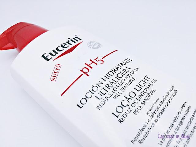 Eucerin PH5 Loción Ultratraligera corporal piel sensible farmacia piel seca verano dermocosmetica