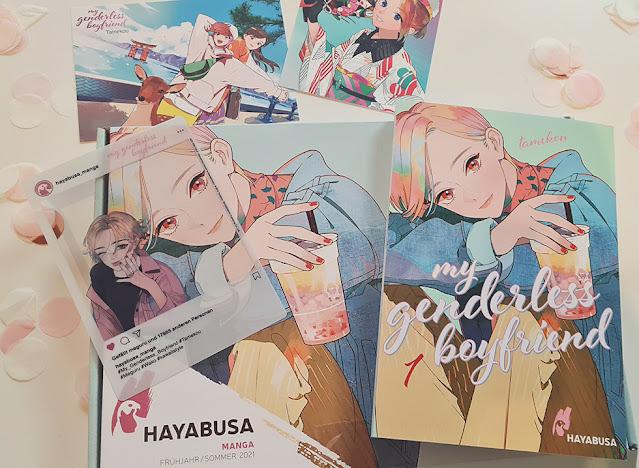 Hayabusa Manga - My Genderless Boyfriend