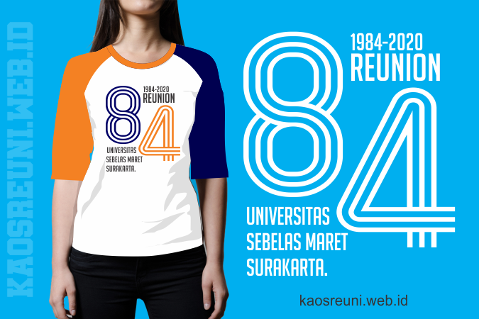 Desain Sablon Kaos Reuni Universitas Sebelas Maret Surakrata - Kaos Reuni