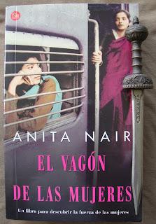 Portada del libro El vagón de las mujeres, de Anita Nair