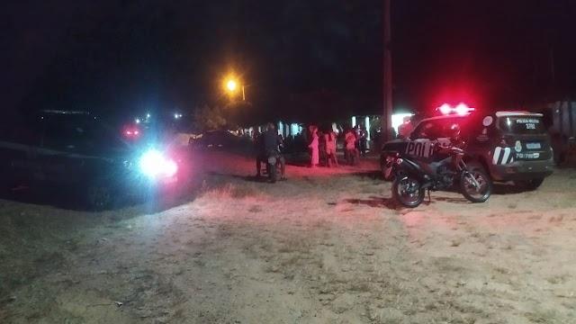 Homicídio na zona rural de Forquilha