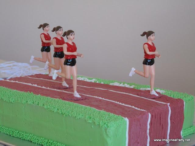 Athletics Cake Ideas Pinterest