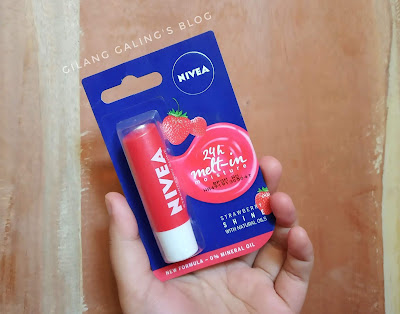 Nivea Strawberry Shine With Natural Oils