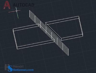 Memotong Objek 3D di AutoCad Autodesk | Command Slice