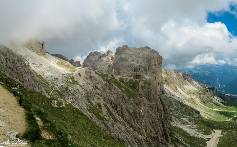 Klettersteig Rosengarten : Klettersteigrunde im rosengarten laurins königreich aus stein do