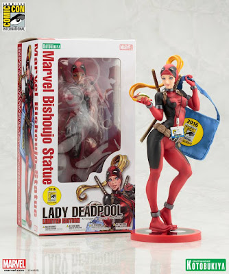 San Diego Comic-Con 2016 Exclusive Marvel Lady Deadpool Bishoujo Statue by Kotobukiya