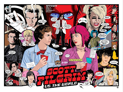 Scott Pilgrim vs. The World 10th Anniversary Screen Print by Matthew Skiff x Gallery 1988
