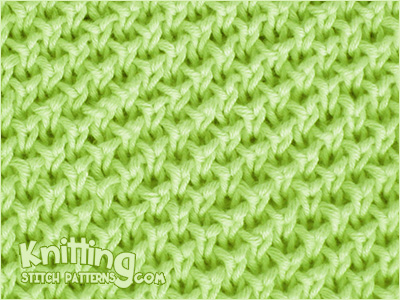 Pearl Brioche Knitting Stitch Patterns
