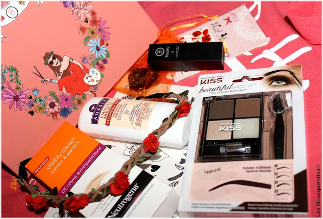 Beautiful Box Hippie Chic Aufeminin - Blog beauté Les Mousquetettes©