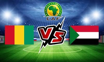 السودان و غينيا بث مباشر