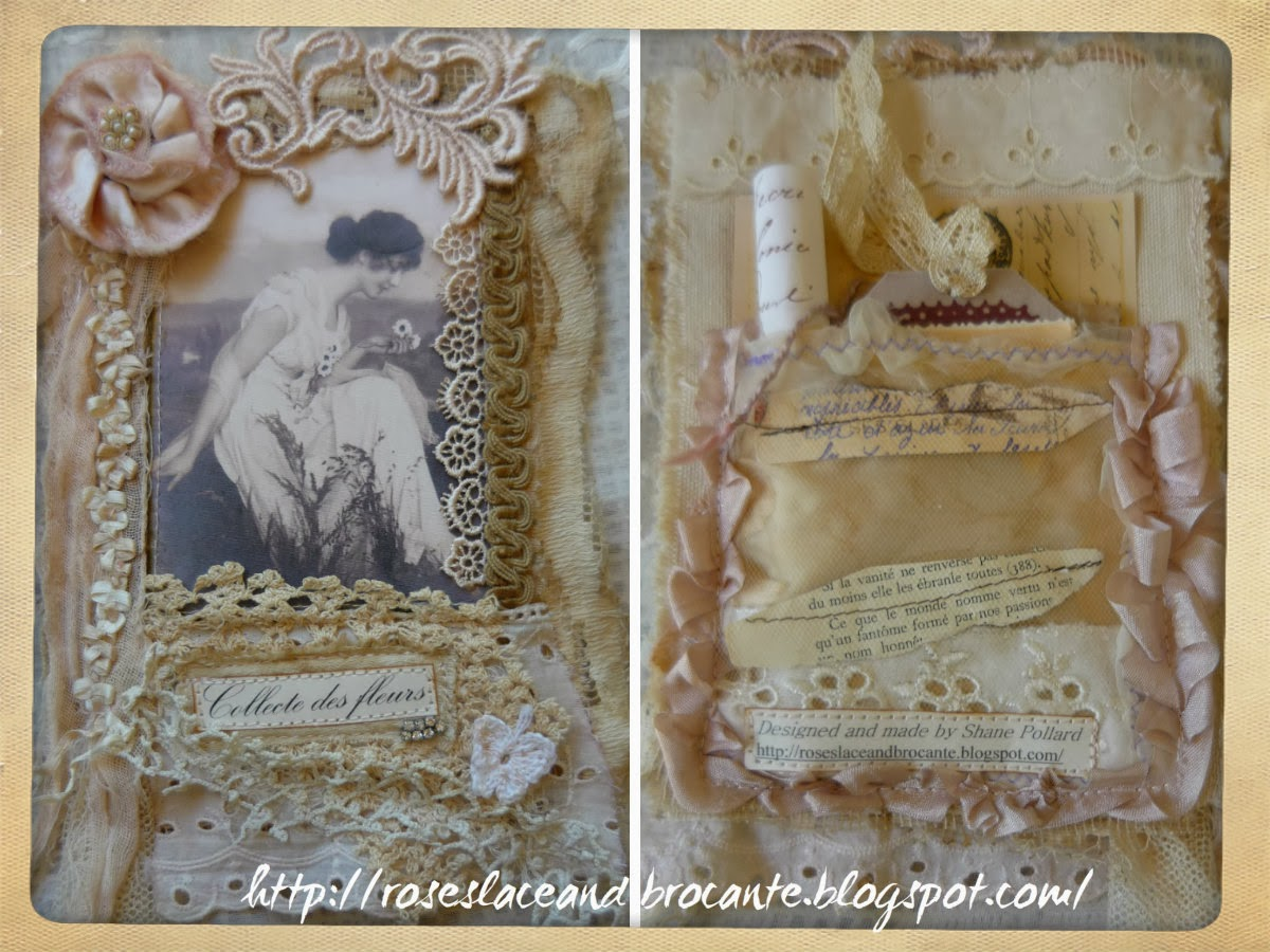 Roses Lace And Brocante