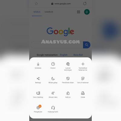 Browser Android Terbaik Samsung Internet