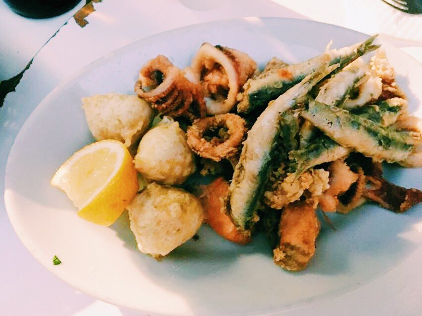 Neapolitan Fried fish