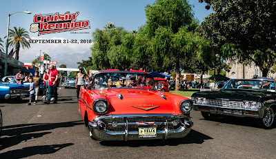 Its almost that time of year. Route 66 Cruisin' Reunion 2018