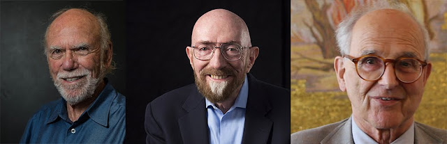 Barry Barish, Kip S. Thorne e Rainer Weiss