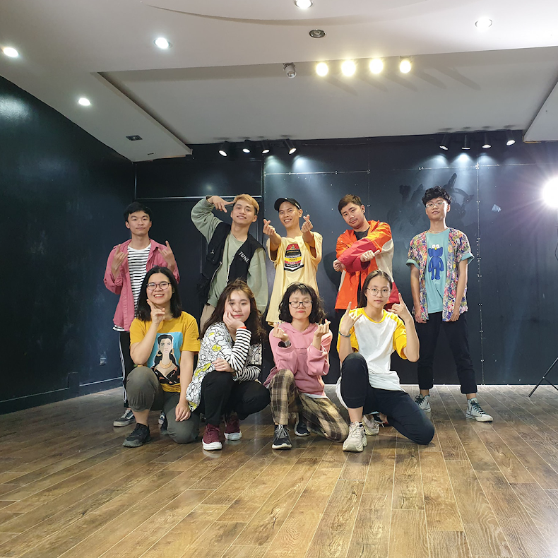 [A120] Lớp học nhảy HipHop tại Hà Nội giá rẻ, chất lượng tốt nhất