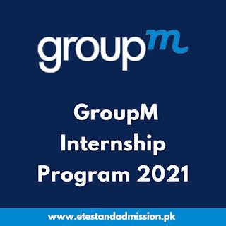 GroupM Internship Program 2021