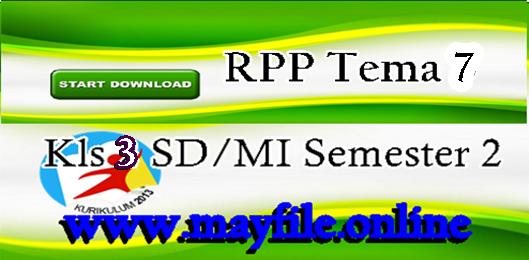 RPP Kelas 3 Tema 7 | Perkembangan Teknologi