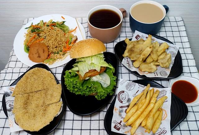蔬波複合式餐飲素食 Vegan、新莊素食、中西式全素餐點,雞排、炒泡麵、漢堡一次滿足!