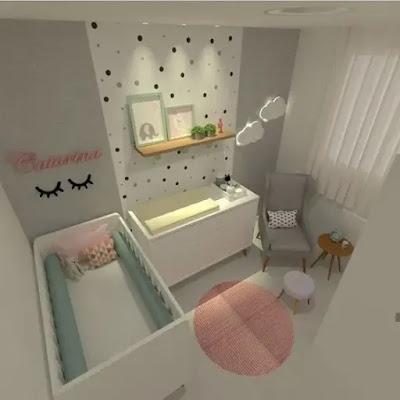 اجمل ديكورات غرف نوم بنات بسيطة 2021
