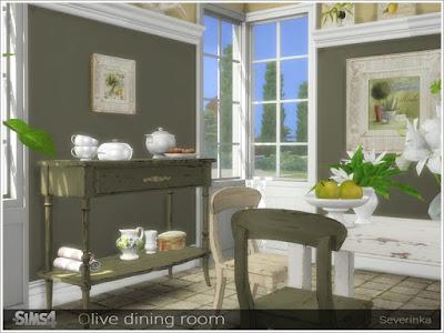 Прованский стиль — наборы мебели и декора для Sims 4 со ссылкой для скачивания