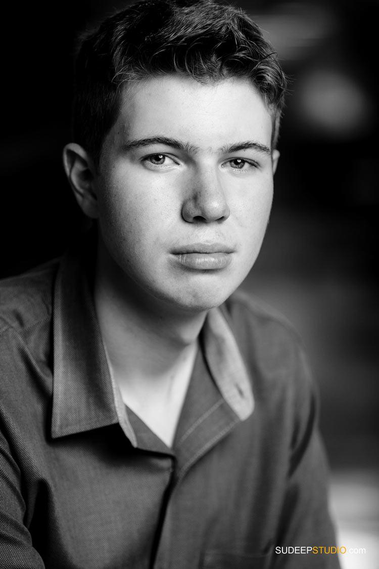 Musical Theater Actor Headshots for Audition of Teen Actor. SudeepStudio.com Ann Arbor Michigan Professional Actor Headshot Photographer
