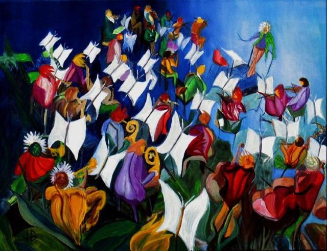 Существа из цветочного мира. Jacques Guignard 4