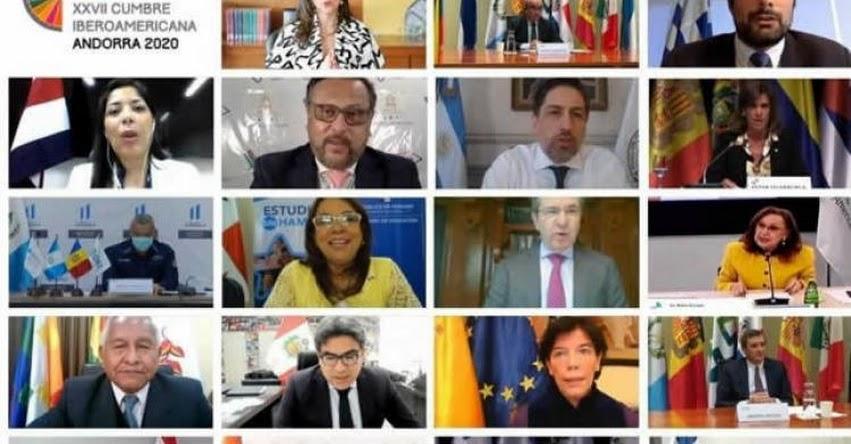 MINEDU: Ministro Benavides expone experiencia peruana en Conferencia Iberoamericana de Educación