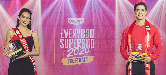 A strong finish: Nursing student and fitness coach hailed as Century Tuna Everybod Superbod 2020 winners