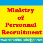Ministry of Personnel Recruitment