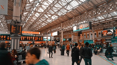 Short Paragraph on a Railway Station (218 Words)