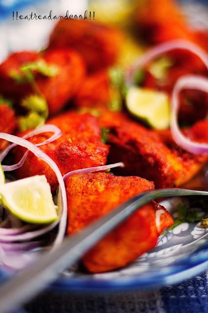 how to make Tandoori Fish Tikka recipe and preparation