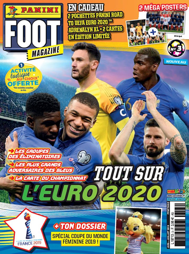 "Adrenalyn XL-Road to UEFA Euro 2020 /""édition limitée/"" cartes x 14"