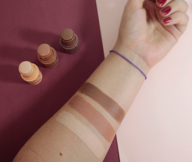SWATCHES DOS COTORNOS FACIAIS VULT STICK