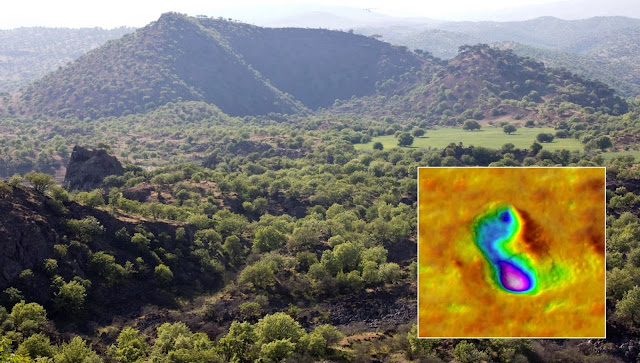 Volcanic eruption witnessed by prehistoric humans