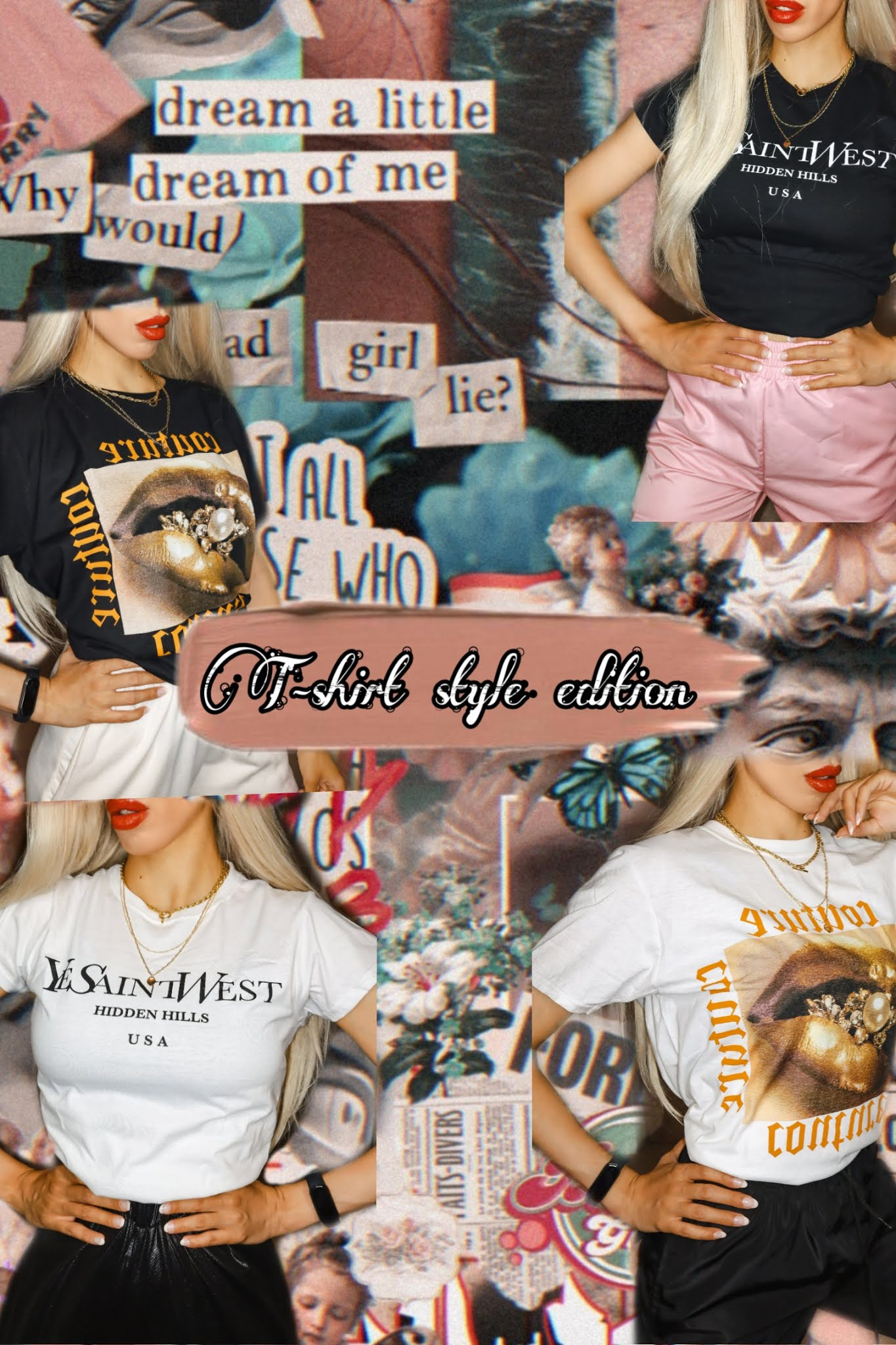 Unique t-shirt designs from Femme Luxe