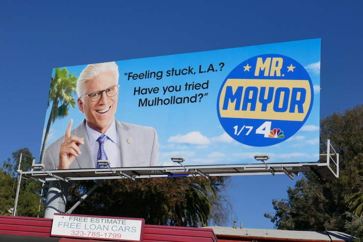 Have you tried Mulholland Mr Mayor billboard