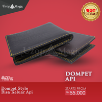 Jual alat sulap Dompet api fire wallet