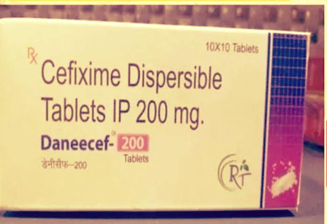 Daneecef 200 Tablet Uses in Hindi