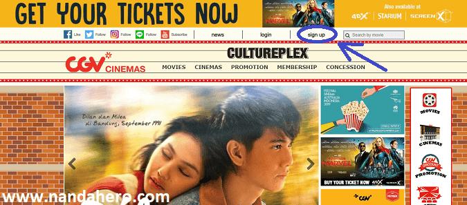 Cara Beli Tiket Bioskop Cgv Dan Cinema 21 Via Online Nanda Hero