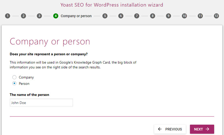yoast seo company or person