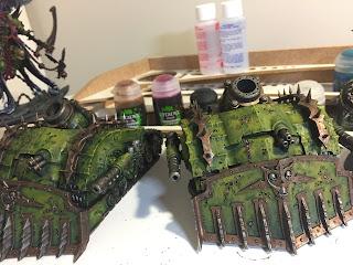 40k nurgle plagueburst crawler tanks