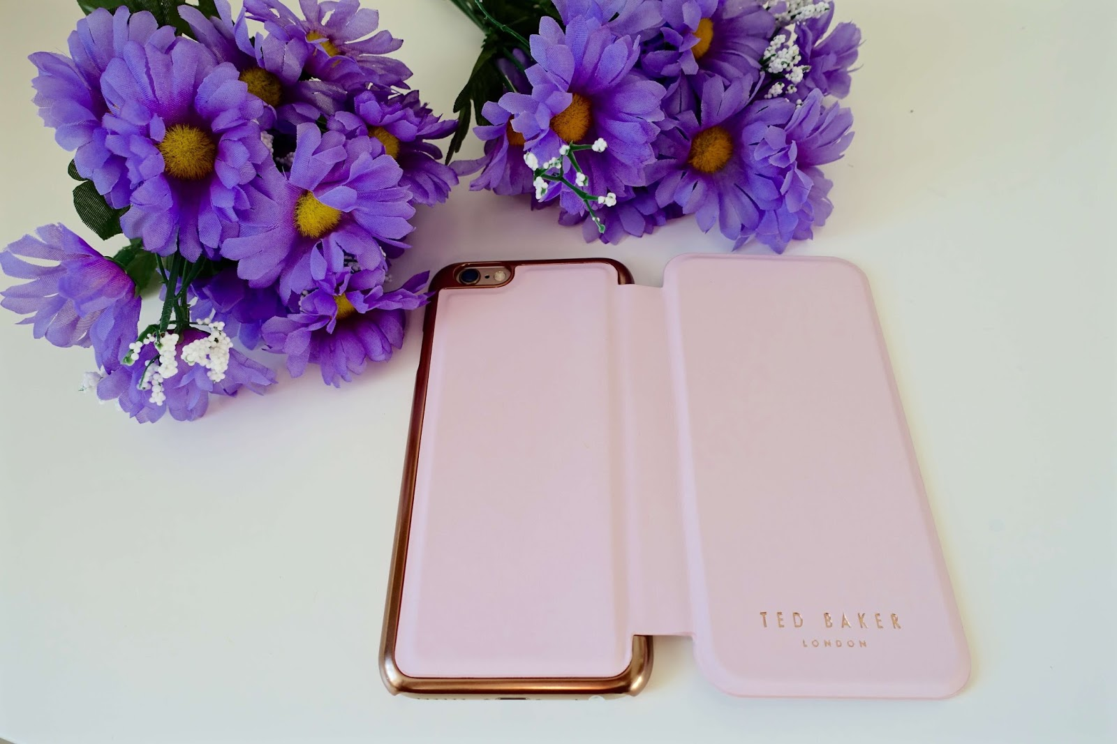 Ted baker phone case in rose pink
