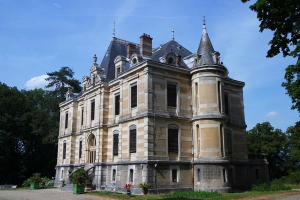 bourg-en-bresse château fleyriat visite parc