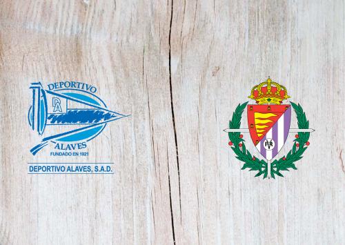 Deportivo Alavés vs Real Valladolid -Highlights 9 November 2019