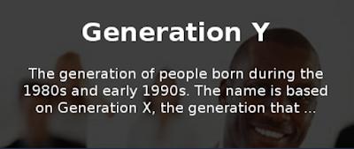 Поколение Y, родившееся в 1980-х и 1990-х годах