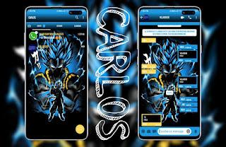 Blue Dragon Theme For YOWhatsApp & Fouad WhatsApp By Carlos