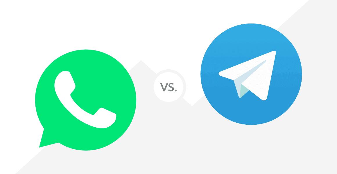 مقارنة تفصيلية بين WhatsApp و Telegram أيهم الأفضل