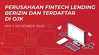 154 Daftar Fintech Pinjaman Online Terdaftar Resmi Di Ojk Per Nopember 2020 Accpinjol