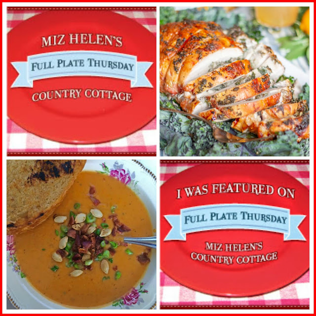 Full Plate Thursday,404 at Miz Helen's Country Cottage